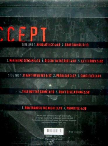 Accept – Predator