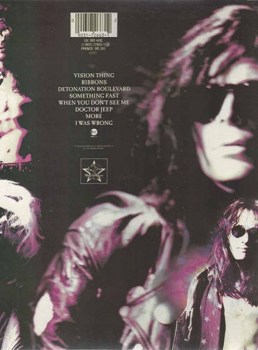 The Sisters Of Mercy ‎– Vision Thing